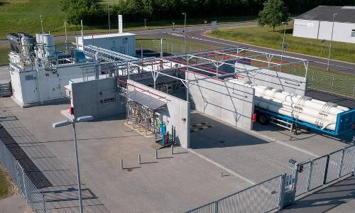 Pure water for the first Power-to-X facility in Europe